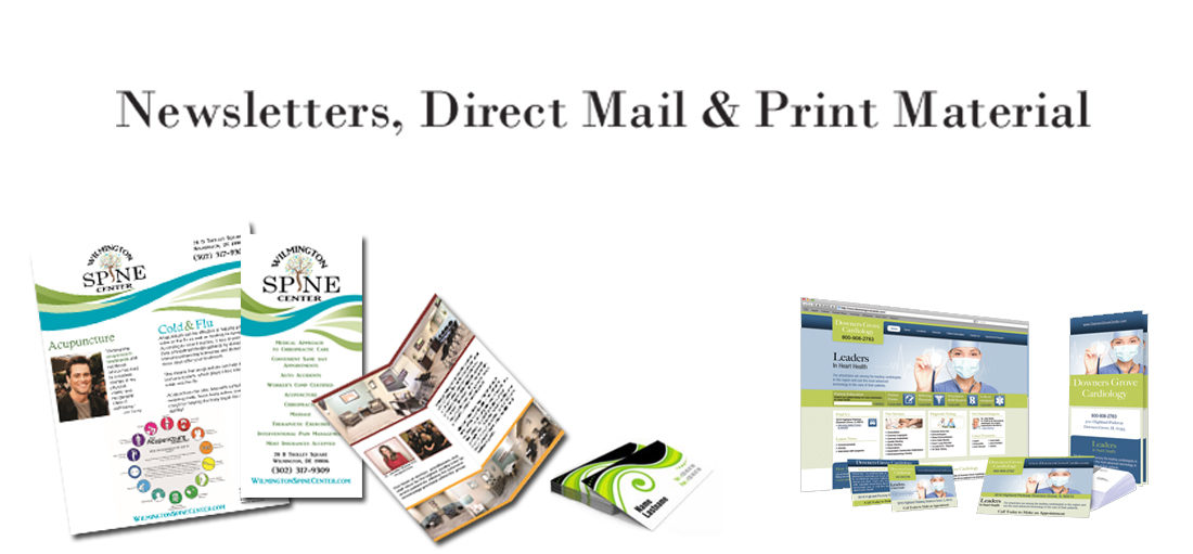 Sunshine Medical Marketing direct mail printing brochures flyers business cards branding